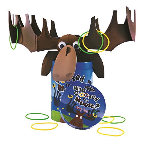 Who Goosed the Moose Ring Toss Game