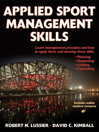 Applied Sport Management Skills  (With Web -