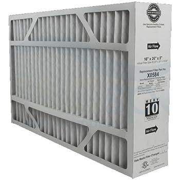 "Lennox X0584 MERV 11 Filter - 16"" x 26"" x 5"" - Genuine Lennox Product"