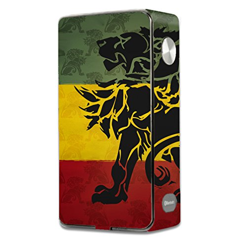 Skin Decal Vinyl Wrap for Laisimo L3 Touch Screen 200w Vape Mod stickers skins cover/ Rasta Lion Africa (Best Touch Screen Vape Mod)