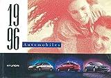1996 Hyundai Accent Sonata Elantra Brochure