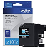 Brother LC101C Cyan Original Ink Standard Yield (300 Yield)