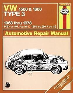 Volkswagen type 3 workshop manual 1961 1962 1963 1964 1965 vw type 3 1500 1600 6373 haynes repair manuals fandeluxe Images