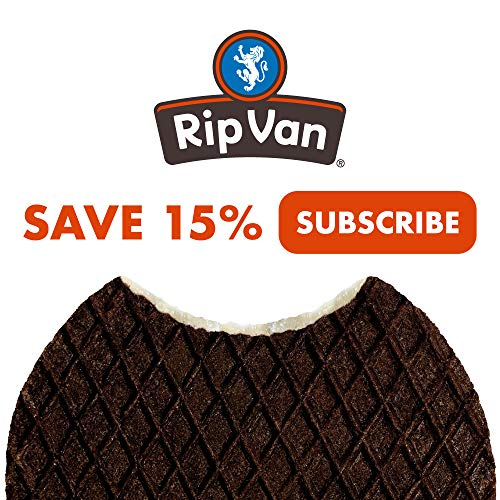 Rip Van Wafels Cookies & Cream Stroopwafels - High Protein Snacks (10g Protein) - Non GMO Snack - Keto Friendly - Office Snacks - Healthy Snacks - Low Sugar (5g) - 12 Pack 5