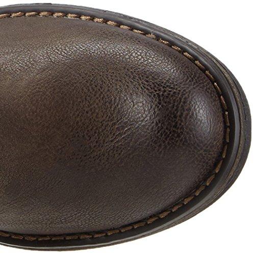 s.Oliver 25420 - zapato botín de material sintético mujer marrón - Braun (Mocca/Pepper 330)