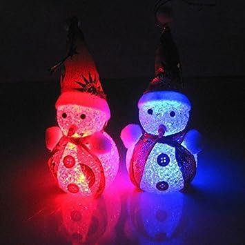 snowman with light christmas snowman lightfaber3 mini led light changing colors lovely snowman shape