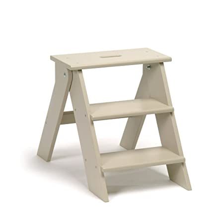 Remarkable Wooden Step Stool In Clay By Garden Trading Amazon Co Uk Creativecarmelina Interior Chair Design Creativecarmelinacom