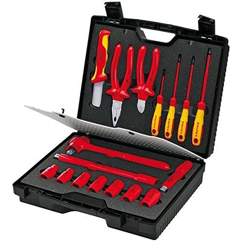 KNIPEX(クニペックス)989911S1 .絶縁工具セット(日本仕様) B07D1LSRW7