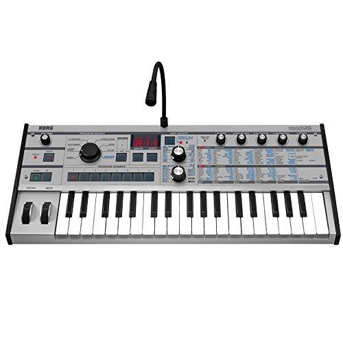 Korg microKORG Synthesizer with Vocoder - Platinum Limited Edition
