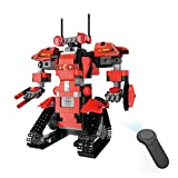 Hisoul Hot  Remote Control Robots for Kids, DIY Building Blocks Walking RC Smart Robot Electronic...