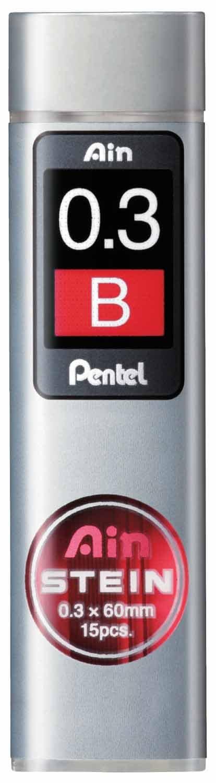 Pentel C279-HB Lot de 12 Etuis de 36 mines 0,9mm HB pour porte-mines