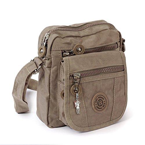 petit noir à en sac pochette main bandoulière sportif à sac marron en bourse épault Nylon sac rrwqf6C