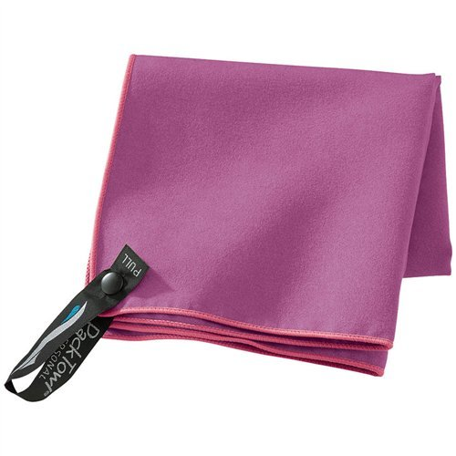 - PackTowl Personal Microfiber Towel, Berry, Face- 10 x 14-Inch
