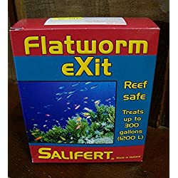 BYF SALIFERT Flatworm EXIT 0.35 OZ - Aquarium Reef Safe Medication Fish Tank Sick