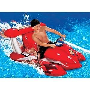 Banzai Motorized Thunder Boat Sports Outdoors