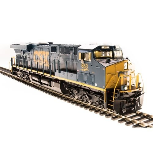Broadway Limited # 5482 GE ES44AC with Sound, DCC and Smoke CSX # 853 HO Engine