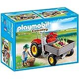 Playmobil 6131 - Trattore con Cassone, 1 Pezzo