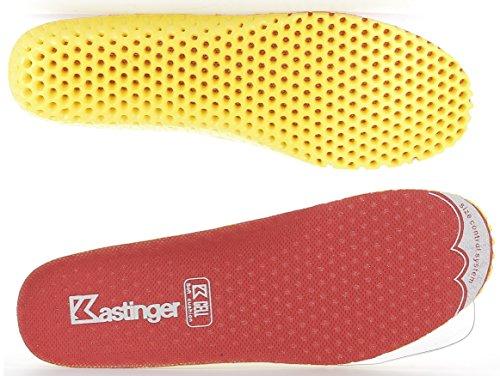Kastinger Unisex Schuhe Damen und Herren Trail A Wasserdichter Outdoor-Halbschuh, K-TEX® Membran für Wasserdichtigkeit und Atmungsaktivität, Schnellschnürung, Trailrunning red/light grey