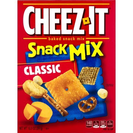 PACK OF 12 - Cheez-It Baked Snack Crackers Snack Mix Classic, 10.5 OZ by Cheez-It (Image #3)