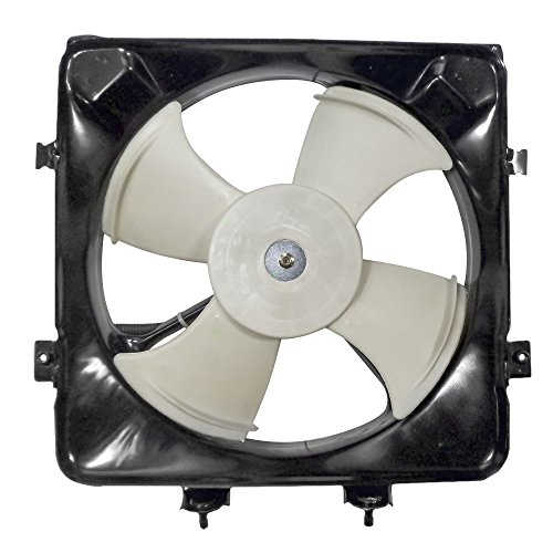 Honda Del Sol Ac Cooling (AC A/C Condenser Cooling Fan Assembly Replacement for Honda 80161-SR3-000)