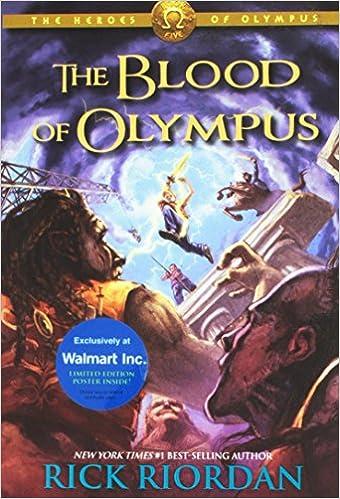 Jackson olympus of ebook blood percy