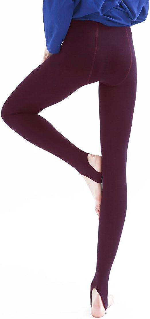 WOMEN LADIES THICK WINTER THERMAL LEGGINGS FLEECE LINING SIZE 10 12 14 16 18 UK