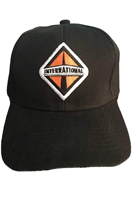 Amazon.com  International Truck Baseball Cap Hat Black. New!  Everything  Else b374848302f