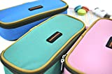 RuiChy Multifunctional Canvas Student Simple Style Pencil Case Pen Bag