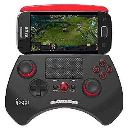 Amazon.com: ASDQ 9028 Wireless Bluetooth Game Controller ...