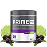Complete Nutrition Prime Drive Energy & Weight Loss Powder, BlackBerry Lime, Increase Energy, Boost Metabolism, Fat Burner, Appetite Suppressant, 9.5oz (30 Servings)