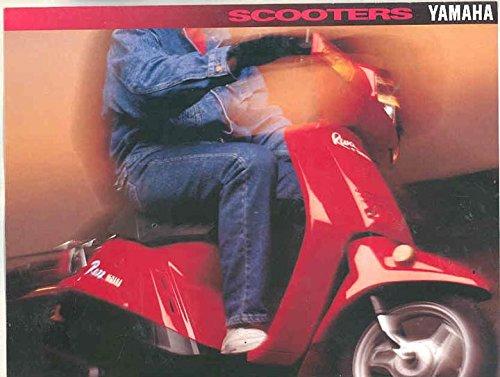 1994 Yamaha Riva 125 Riva Razz 50 Riva Jog 50 Scooter Motorcycle Brochure