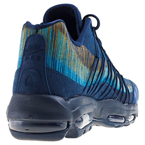 Nike Men's Air Max 95 Ultra JCRD Running Shoes, Grey Blue
