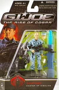 "G.I. Joe The Rise of Cobra 3 3/4"" Action Figure Zartan Master of Disguise"