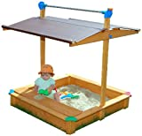 Exaco Gaspo Sandbox, Maxi with Toy Box