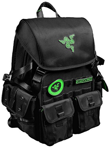 Razer Tactical Pro Backpack Fits Notebooks of up to 17.3-Inch (RC21-00720101-0000) by Razer