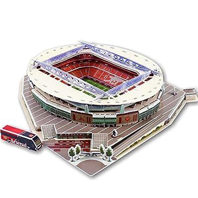 Tkfy Coppa Del Mondo Assemblare Puzzle Emirates Stadium 3d Modello Di Calcio Fans Memorabilia Giocattoli Regalo Per Lo Sviluppo Dei Bambini Interessi A Calcio