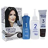 Clairol Nice N Easy Permanent Color for Women 1 Application Hair Color, 2-5 123 Natural Soft Black