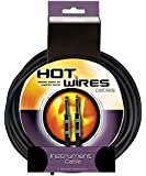 "On-Stage Hot Wires 1/4"" Guitar Instrument Cable, 3 Feet"