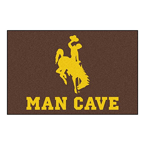 University of Wyoming Man Cave Area Rug ()