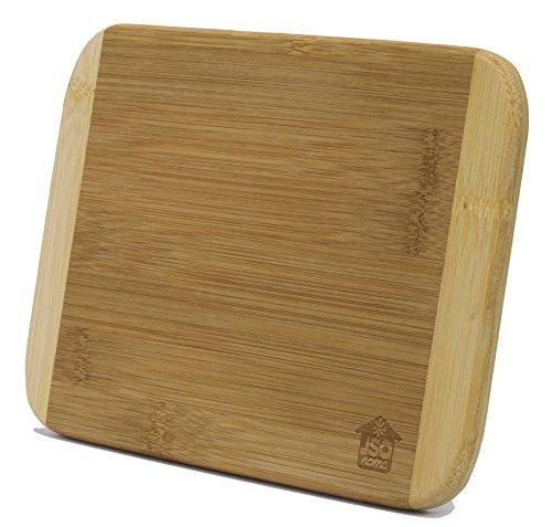 - Small Two-Tone Bamboo Cutting Board (6