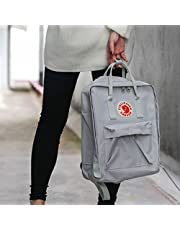 Women Men Fjallraven Kanken Travel Backpack Work Shoulder School Bags Rucksack Gray