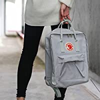 Women Men Fjallraven Kanken Travel Backpack Work Shoulder School Bags Rucksack Gray