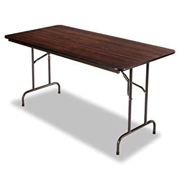 Alera Folding Rectangular Table, 60 By 30 By 29 Inch