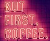 LiLingU Neon Signs, Real Glass Neon Sign ''But First Coffee'' Appropriate for Gifts, Bar Signs with High Fine Process for Bar, Pub, Hotel, Restaurant, and Home Wall Decor.