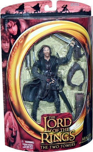 ARAGORN with Real Arrow Launching Action from THE LORD OF THE RINGS: THE TWO TOWERS Action Figure by Prannoi