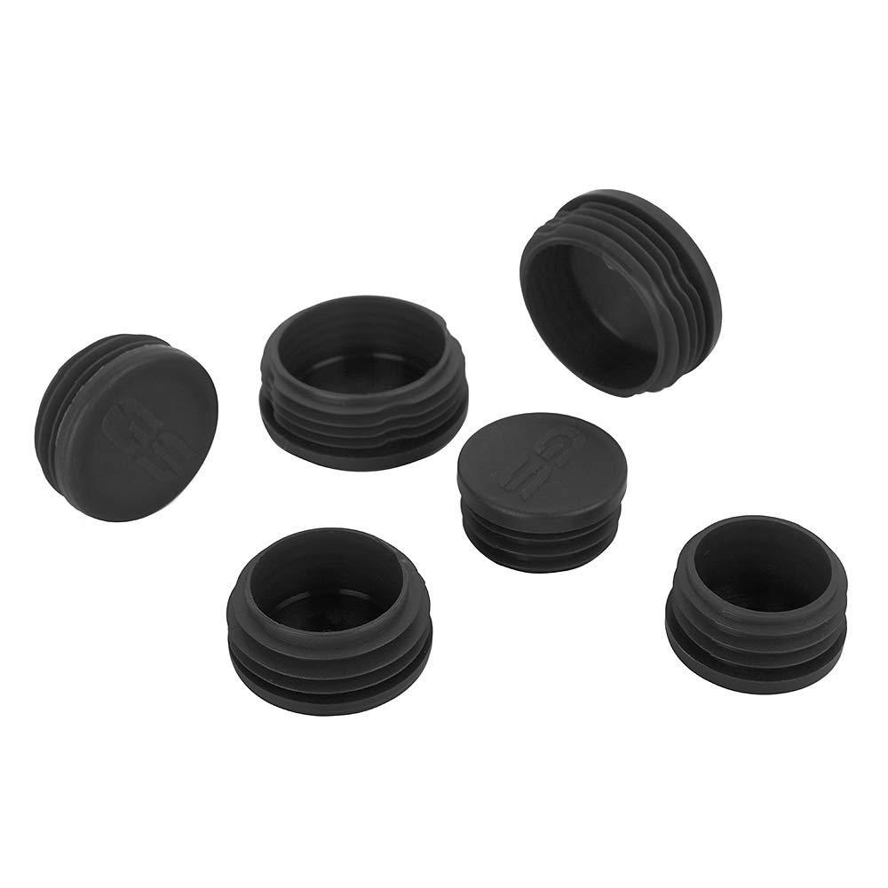 Black Frame Plug Kit Crash Bar End Caps Decorative Cover Set for R1200GS LC 2013-2016