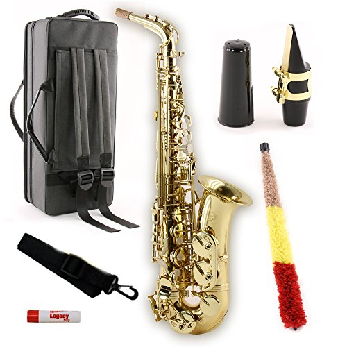 Legacy AS750 Student/Intermediate Alto Saxophone with Case by Legacy