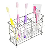 Best Bathroom Toothbrushes - Veryke Stainless Steel Toothbrush Holder Toothpaste Holder St Review