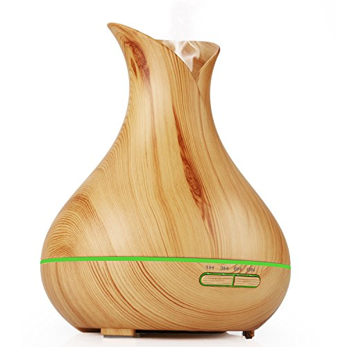 Aromatherapy-Essential-Oil-Diffuser400ml-Wood-Grain-Ultrasonic-Cool-Mist-Humidifier-Home-Fragrance-Diffuser