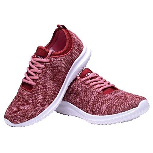 Women's Casual Sneakers For Shoes Sport Shengqu Fashion Womens Pink dqtEwdA